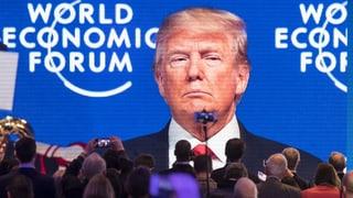 Trump kommt nicht nach Davos