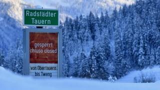 Nach Schnee droht den benachbarten Alpenregionen das Hochwasser
