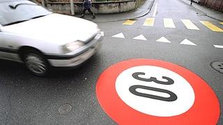 Kampf um Tempo 30 auf Hauptstrassen: Die Gegner geben Vollgas