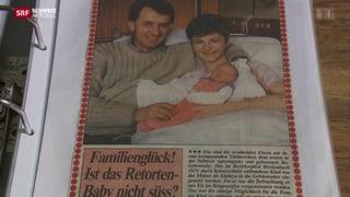 Erstes Retortenbaby wird dreissig in Basel