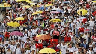 Hongkong fürchtet sich vor der chinesischen Justiz