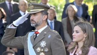 Prinz Felipe an Militärparade: Zeichen für baldigen Thronwechsel?