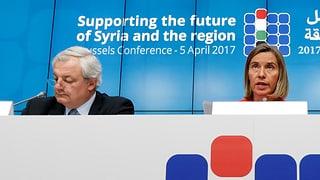 Sechs Milliarden Dollar für Opfer des Syrien-Kriegs