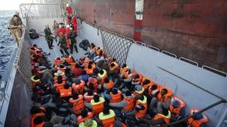 Lampedusa: Flüchtlinge sagen gegen Schlepper aus