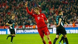 So kamen die Bayern zu einem deutlichen Sieg über Arsenal