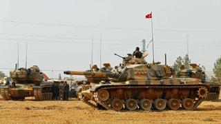Weitere türkische Panzer rücken nach Syrien vor