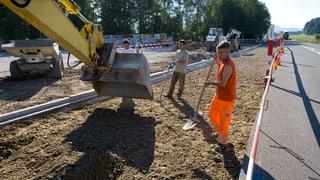 Aargau investiert 148 Millionen Franken ins Strassennetz