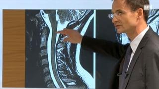 Engpass Halswirbelsäule - Mit einer OP die Lähmung verhindern