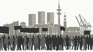 Proteste, Polizisten, Planespotter: Zum G20-Gipfel herrscht Ausnahmezustand in der Hansestadt. Die wichtigsten Zahlen.