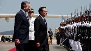Chinesen auf Grosseinkauf in Griechenland