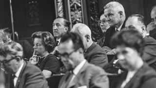 Vor 50 Jahren durften die ersten Frauen in den Grossen Rat