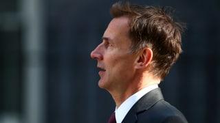 Jeremy Hunt: Der Mann, der nicht Boris ist