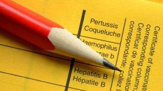 Keuchhusten – zu wenige Nachholimpfungen
