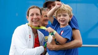 Nicola Spirig: Nach der Silbermedaille ein zweites Baby?