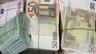 Mehr Euro-Falschgeld im Umlauf