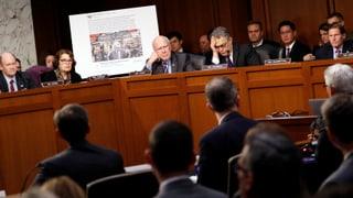 US-Senat befragt Facebook, Google und Twitter zu Wahlmanipulation