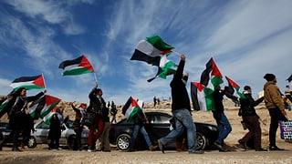 Auf strittigem Gelände: Israel räumt Palästinensercamp