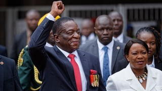 Emmerson Mnangagwa vereidigt