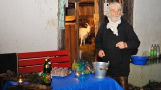 Weihnachten bei Ernst Sieber: Gschwellti & frischer Ziegenkäse