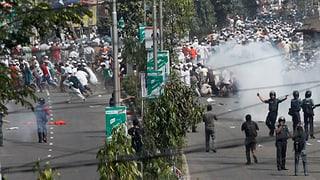 Todesurteil löst Gewaltwelle in Bangladesch aus