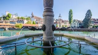 Wissenswertes über 134 Luzerner Brunnen