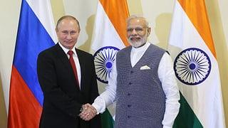 Brics-Gipfel: Indien und Russland unterschreiben Milliarden-Deal