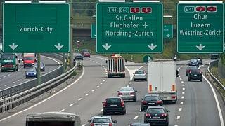 Eine Autobahnspur weniger im Limmattal