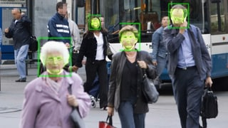 Digitale Gesichtserkennung zunehmend auch in der Schweiz