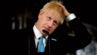 Johnsons Mehrheit im Parlament schmilzt auf einen Sitz zusammen
