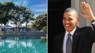 Auf dem Markt: Obamas weisses Ferienhäuschen – für 23 Millionen