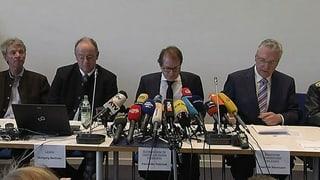 Zum Nachlesen: Das sagen die Behörden zum Zugunglück in Bayern