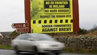 Grossbritannien will keine Grenzkontrollen auf der irischen Insel