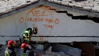 Nach dem Erdbeben in Italien steigt die Opferzahl weiter