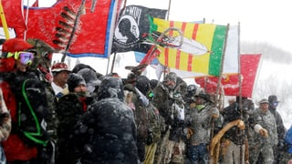 Trump lässt Pipeline in North Dakota fertigbauen