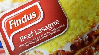 Pferdefleisch in der Lasagne: Briten sind «not amused»