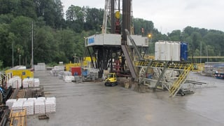 Geothermie-Baustelle kostet 40'000 Franken pro Tag