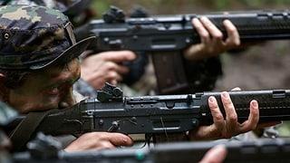 Schweizer Waffen sollen einfacher zum Einsatz kommen