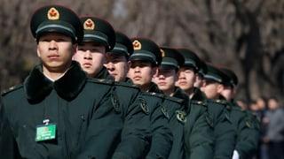 China rüstet weiter auf