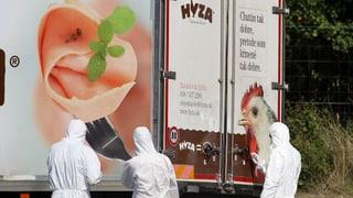 Schuld am Tod von 71 Menschen: Die Schlepper von Parndorf stehen vor Gericht
