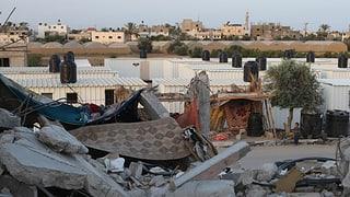 Israel gestattet die Einfuhr von Baumaterialien nach Gaza