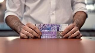 Geschäft mit Steuersündern schrumpft