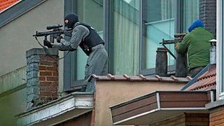 Ein Toter bei Anti-Terror-Einsatz in Brüssel