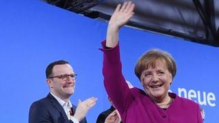 CDU-Delegierte sagen klar Ja zur grossen Koalition