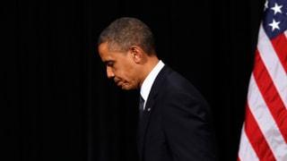 Laufend schlechtere Noten für Obama