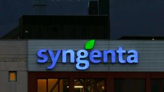 Syngenta gibt den Widerstand auf