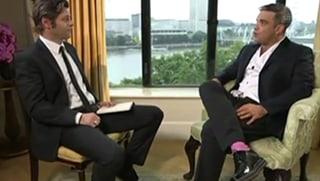 Robbie Williams beneidet SRF-Journalisten