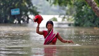 Hochwasserkatastrophe sucht Südasien heim