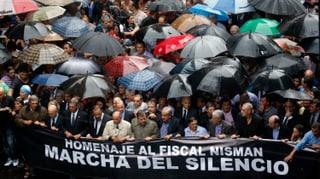 Schweigemarsch für toten Staatsanwalt
