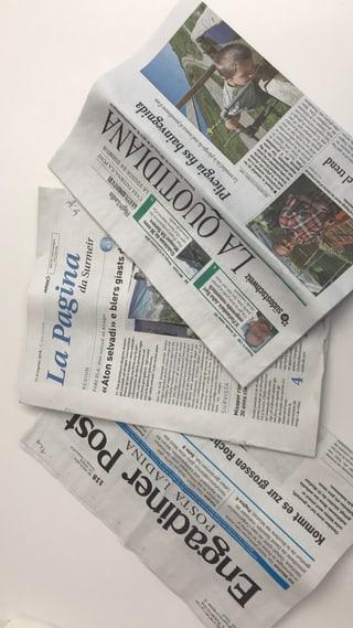 Nova fundaziun duai salvar las medias rumantschas (11.10.2018)