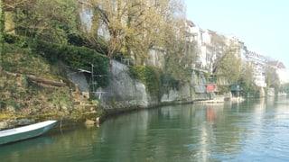 Hohe rechtliche Hürden für den Grossbasler Rheinuferweg
